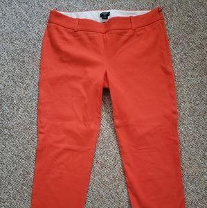 J Crew  Stretch City Fit pants